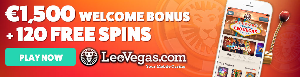 leovegas casino bonus pokies now